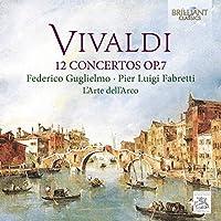 Antonio Vivaldi: 12 Concertos Op.7 by Pier Luigi Fabretti