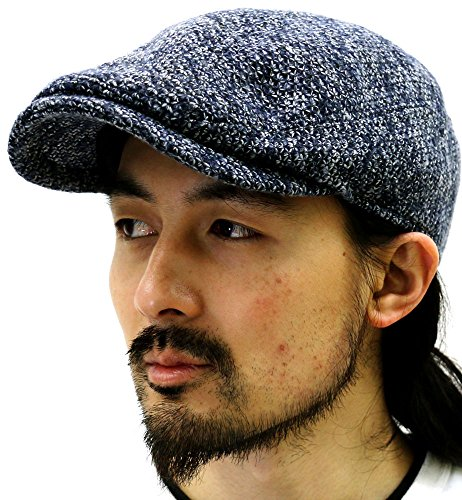 (マルカワジーンズパワージーンズバリュー) Marukawa JEANS POWER JEANS VALUE 帽子 メンズ ワークキャップ ハンチング 男女兼用 2color (Free, ダークネイビー)