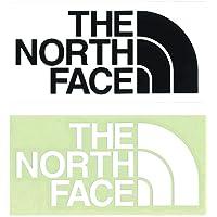 【2枚セット】 ザ・ノースフェイス (THE NORTH FACE) TNF カッティングステッカー ブラック と ホワ…