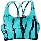 XFKLJ Sports Bra Yoga Pants Seamless Women Yoga Set Fitness Clothing Sports Clothes High Waist Gym Suits Padded Push-Up Sport