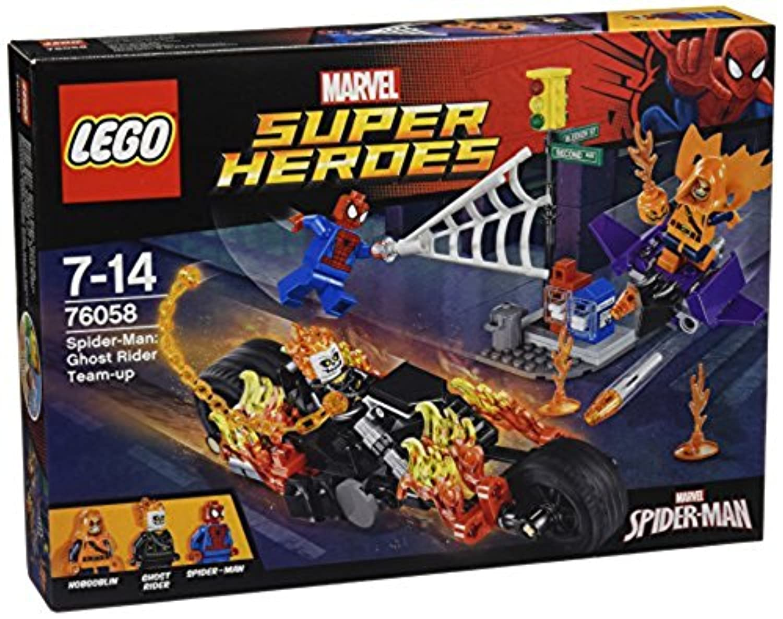 レゴ (LEGO) スーパー?ヒーローズ スパイダーマン:ゴーストライダーとの団結 76058