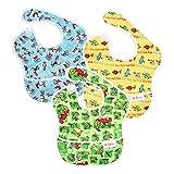 Bumkins 3 Pack Waterproof SuperBib ,Green Eggs/ Yellow Fish/ Cat in the Hat by Bumkins [並行輸入品]