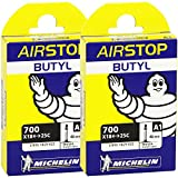 MICHELIN(ミシュラン) AIR STOP A1 700X18/25C FV 仏式 40mm 2本セット [並行輸入品]