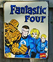 Fantastic FourレトロTin Sign 12x 16in