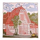 トトロ ガーゼハンカチ サツキとメイの家 約40×40cm マルチカラー