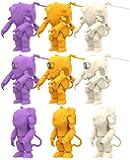 海洋堂 カプセルキット 35ガチャーネン 横山宏ワールド FINAL 全9種 (3種×成形色3色) プラスチック製 組み…