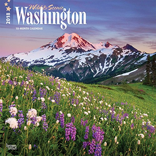 Wild & Scenic Washington 2018 Calendar-