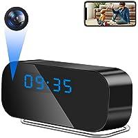 【最新版】スパイカメラ 小型カメラ 隠しカメラ時計型 小型カメラ 隠しカメラ 1080P高画質 3時間録画 遠隔操作 ス…