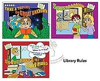 ライブラリルールラミネート教育ポスターシリーズforライブラリと教室