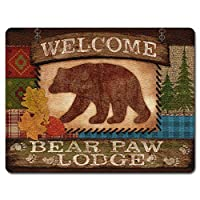 Lodge N Around - Large Glass Cutting Board [並行輸入品]