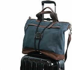 (フォーパリー) Foppery スーツケース 上の サブバッグ の 固定に活躍 ずり落ち 防止 コンパクト 調整可能 バッグ 固定 ベルト 旅行便利グッズ