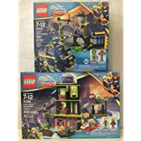 LEGOスーパーヒーローガールズLena Luthor Kryptomite & Lego S H Girls Batgirl Secret Bunker