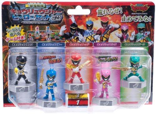 獣電戦隊キョウリュウジャー フィギュアピースコレクション ヒーローセット