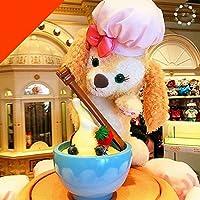 香港ディズニー クッキー ぬいぐるみ S ダッフィーの新しい友達