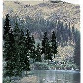 ■【KATO/カトー】(00201581')ウッドランド 完成樹木パック 針葉樹 中 レイアウト用品 鉄道模型 外国製 Nゲージ