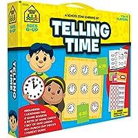 School Zone Learning Set-Telling Time [並行輸入品]