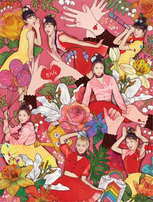 Oh My Girl 4thミニアルバム - Coloring Book
