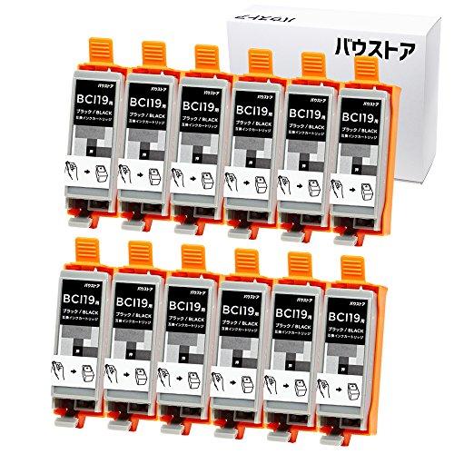 Canon BCI-19 ブラック 12色セット 互換インク 【バウストア】