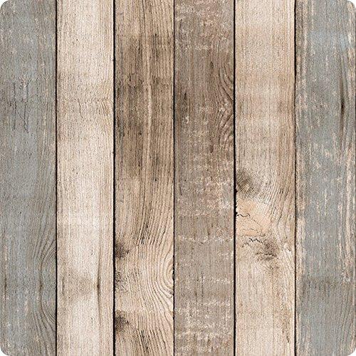 RoomClip商品情報 - lola ロラ テーブルクロス 高級 ベルギー製 防水 塩ビ 140x140㎝ 縁取り加工品 ウッドナチュラル