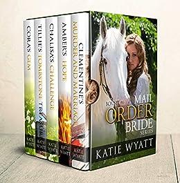 Mail Order Bride: Box Set #6: Inspirational Pioneer Romance (Historical Tales of Western Brides Box Set Series) by [Wyatt, Katie]