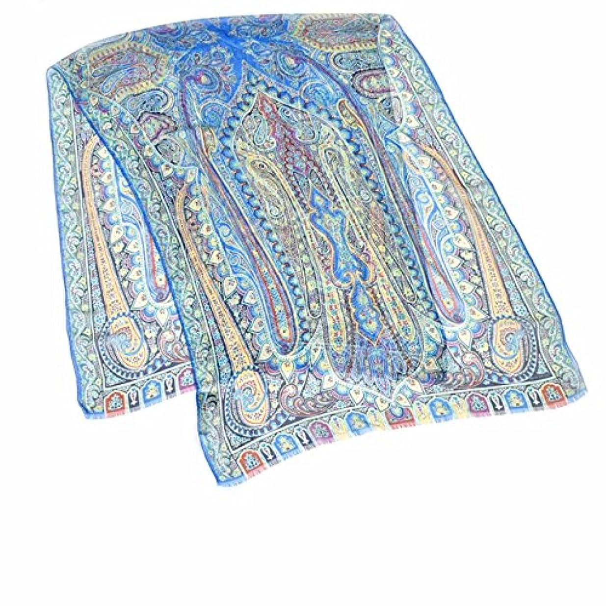 リラックスした器用書店(エトロ) ETRO スカーフ 10007 5615 0250 DHELY ブルー [並行輸入品]