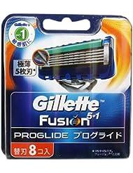 【お徳用 3 セット】 ジレット フュージョン 5+1 プログライド フレックスボール マニュアル 替刃 8個入×3セット