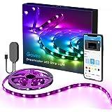 DreamColor LED Strip Lights with APP, Minger 6.6FT/2M USB Light Strip Built-in Digital IC, 5050 RGB Strip Lights, Color Chang