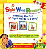 Sight Word Readers Parent Pack: Learning the First 50 Sight Words is a Snap!  25 Easy-to-Read Storybooks With Parent Tips and  Mini-Workbook