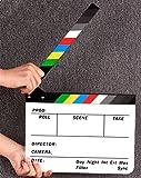 Best 映画のAndoerカメラ - ブランドンAcrylic Clapboard Dry Erase Director Film Movie Clapper Review