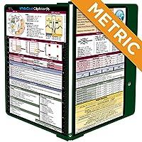 WhiteCoatクリップボード–グリーン–メトリックMedical Edition