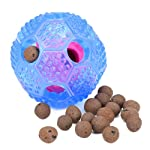 ZLYL Interactive Dog Toy - IQ Treat Ball Food Dispensing Toys for Small Medium Large Dogs Durable Chew Ball - Nontoxic...