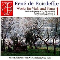 Rene de Boisdeffre: Works for Viola and Piano Vol. 1