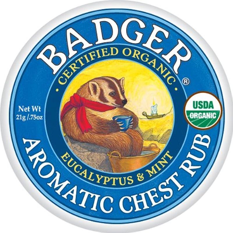 近傍肉敬意を表してバジャー アロマティックチェストラブバーム