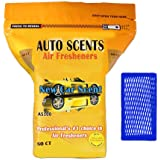 New Car Scent Professional Air Freshener Pads - Remove the Worst Smells with These Heavy Duty Pads (60 Pads Per Pack) (New Ca