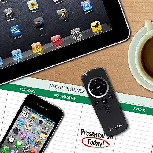 『Satechi プレゼンター プレゼン リモコン (黒) iPhone X, 8 Plus, 8, iPad, Samsung Galaxy S8, MacBook Pro/Air対応』の6枚目の画像