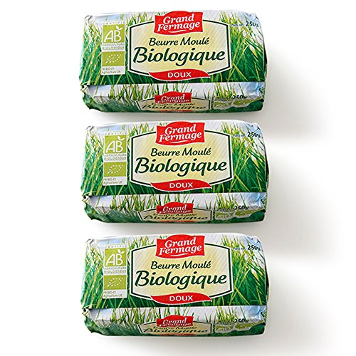 グラスフェッドバター グラスフェッド 無塩発酵バター3個セット グランフェルマージュ&エシレ100g無塩
