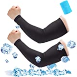 Nipinus UV Protection Cooling Arm Sleeves for Men Women for Cycling,Basketball,Golf