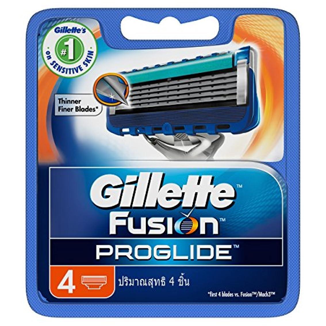 どれ口頭スカルクGillette Fusion Proglide Shaving Cartridges 4