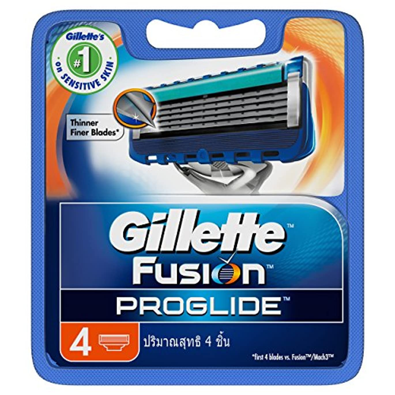 可動抵当虐待Gillette Fusion Proglide Shaving Cartridges 4