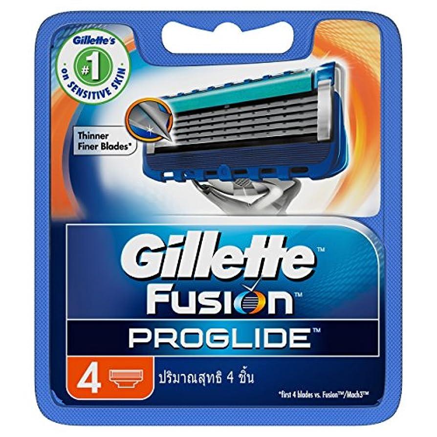 Gillette Fusion Proglide Shaving Cartridges 4