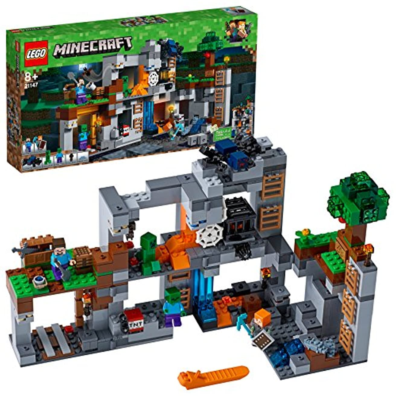 サロン探検神秘的なレゴ(LEGO)マインクラフト ベッドロックの冒険 21147 ブロック おもちゃ 男の子