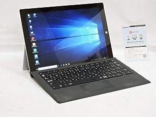 即日発送 2K対応 12型 タブレット 良品 Microsoft Surface Pro3 /Win10 64 pro/第四世代Core i5-4300u/ 8G/ 256G-SSD/カメラ/2160x1440/無線/リカバリー/Kingsoft Office 2016(ライセンスカード付き)【中古パソコン 中古PC】