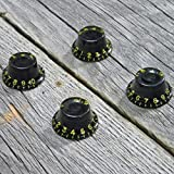 Montreux Top Hat knob set Black ver.2 Time Machine Collection No.8705