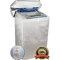 【 カバー 専門店】洗濯機 カバー 4面 屋外 防水 紫外線 3年耐久 オックスフォード マジックテープ 全自動 <日本…
