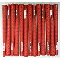 13 Pure Proゴルフグリップ – 標準 – Red – Includes Bramptonグリップキット