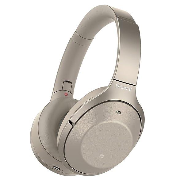 ソニー SONY ワイヤレスノイズキャンセリングヘッドホン WH-1000XM2 : Bluetooth/ハイレゾ対応 最大30時間連続再生 密閉型 マイク付き 2017年モデル シャンパンゴールド WH-1000XM2 N