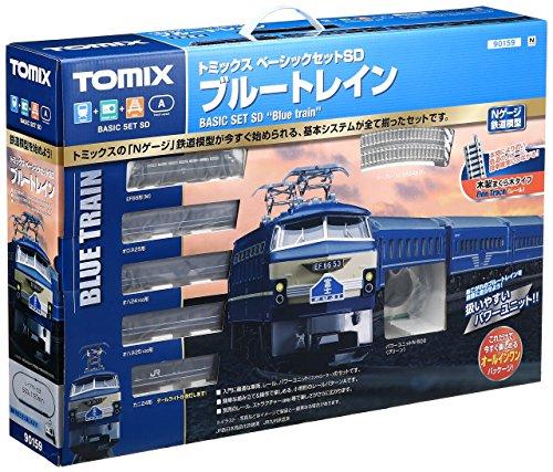 TOMIX Nゲージ 90159 ベーシックセットSD ブルートレイン3