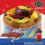 キャラデコクリスマス 仮面ライダービルド 5号 15cm チョコクリームショートケーキ (お届け希望日:12月22日)
