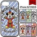 【カラー:ピンク】iPhone8 iPhone7 iPhone6S iPhone6 ディズニー ハイブリッド ケース ソフトケース ソフト 背面カバー ハード ハードケース キャラクター シリコン ブラック ミッキー ミッキーマウス かわいい アイフォン iPhone 8 7 6s 6 スマホカバー スマホケース s-gd_7a691