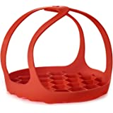Silicone Trivet For Instant Pot | Fits 6,8 Qt Instapot, Ninja Foodi and Other Pressure Cookers | 3 in 1 - Bakeware Pan Sling